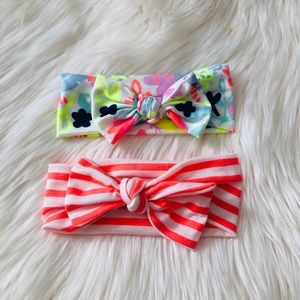 Other - Pair of knot bow hair bands